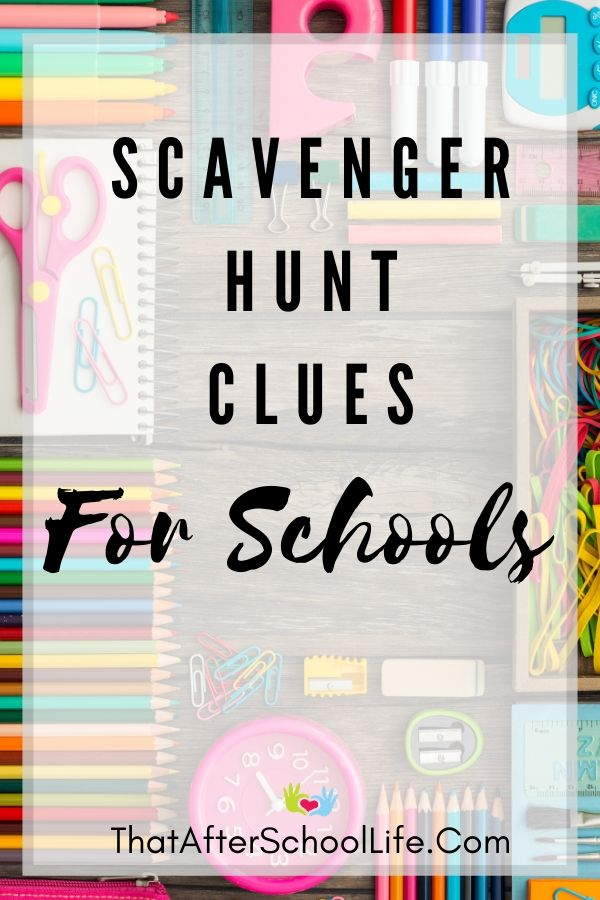 Treasure Hunt Clues Puzzles For Kids Perfect For School Camp That After School Life